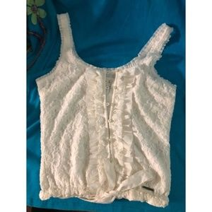 Abercrombie and Fitch Lace Crop Top